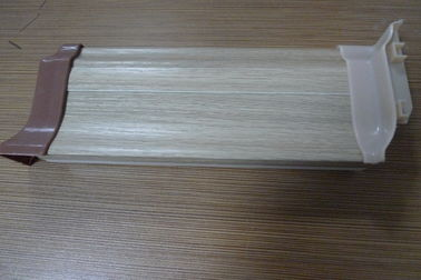 চীন High Impact Resistant PVC Laminate Flooring Skirting Board 500G / M Anti - Insect সরবরাহকারী